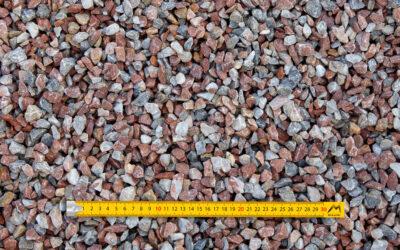 Graviers 10-16 concassés lavés marbre rose