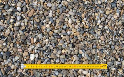 Graviers 4-16 roulés lavés alluvionnaires