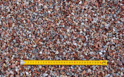 Graviers 6-10 concassés lavés marbre rose