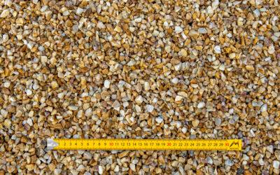 Graviers 6-10 concassés lavés quartz jaune
