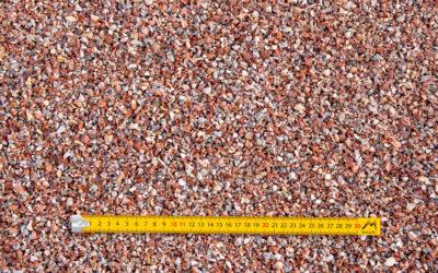Gravillons 2-6 concassés lavés marbre rose