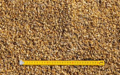 Gravillons 2-6 concassés lavés quartz jaune