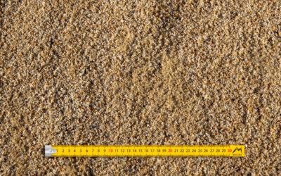 Sable 0-2 concassé lavé quartz jaune