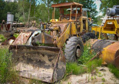 tracteur old school