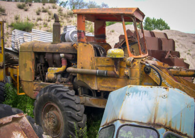 old school vintage tracteur