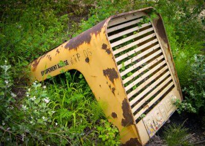 vieux capot de tracteur richier